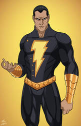 Black Adam (Earth-27) commission by phil-cho