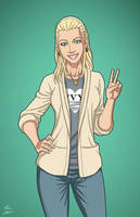 Greta Hayes (Earth-27) commission by phil-cho