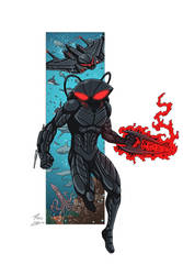 Black Manta commission by phil-cho