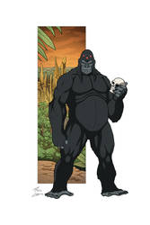 Gorilla Grodd commission by phil-cho