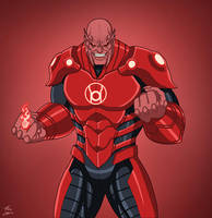 Atrocitus (Earth-27) commission by phil-cho