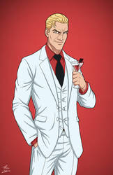 Lucifer Morningstar (Earth-27) commission by phil-cho