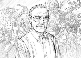 RIP Stan Lee by phil-cho
