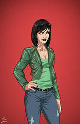 Elaine Belloc (Earth-27) commission by phil-cho