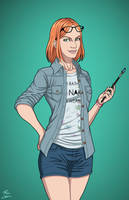 Ellen Baker (Earth-27) commission by phil-cho