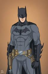 Batman [2007] (Earth-27) commission by phil-cho