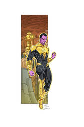 Sinestro commission by phil-cho