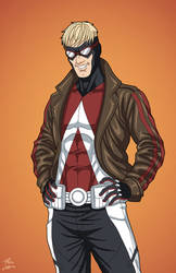 Animal Man (Earth-27) commission by phil-cho