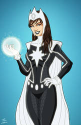 Dr. Light (Earth-27) commission by phil-cho