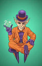 Mxyzptlk (Earth-27) commission by phil-cho