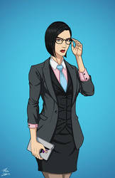 Mercy Graves (Earth-27) commission by phil-cho