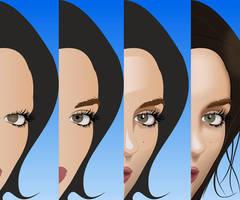 Inkscape vectorizarion by DaFeBa