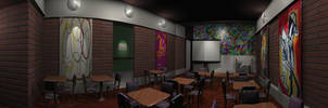 bar interior 270 degrees view by DaFeBa