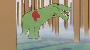 Dinosaur comic effect by DaFeBa