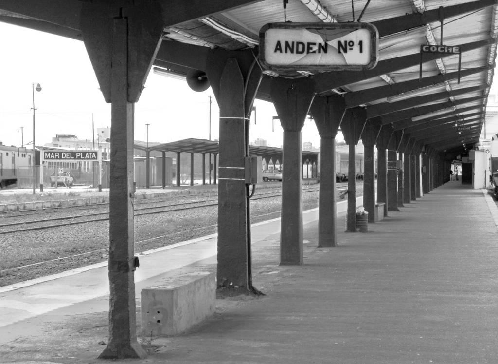 Old train station of Mar del Plata by DaFeBa