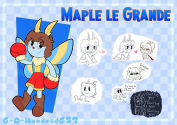 Maple le Grande Ref Sheet by 6-O-Hundred657