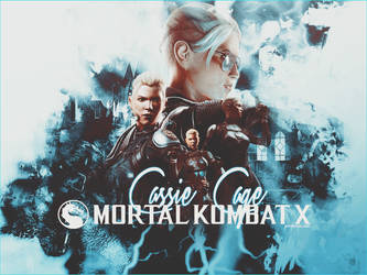 Cassie Cage Mortal Kombat X by mariebelikov