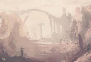 Canyon Bridge by JohnathanSung