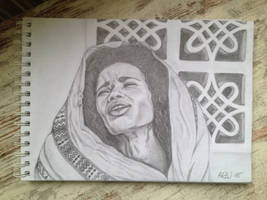 Ethiopian Woman  by Arzuco
