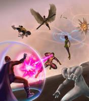 X-Men: First Battle by ElJore