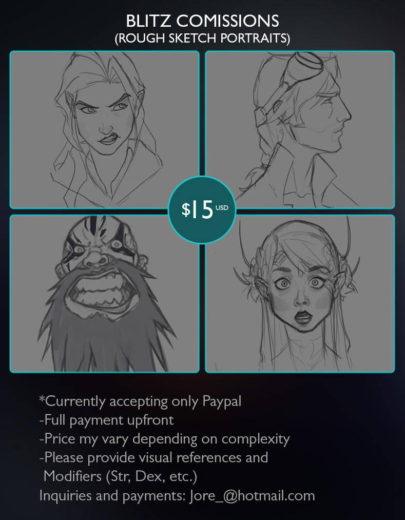 Blitz Commission Info by ElJore