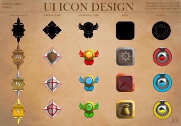 UI Icon Design 01 by Artichoo