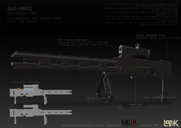 SHF-MK01 - Long Range Weapon Design 01 by Artichoo