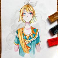 Soleil Kagamine Rin by Azuri-chan79
