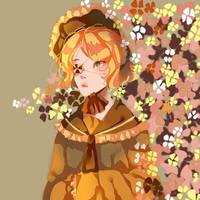 Rin Kagamine Senbonzakura(speedpaint) by Azuri-chan79