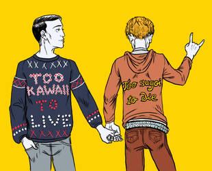 Zombie Boyfriends by chibilou
