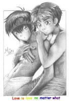 Love is Love... - Miroku4288 by dapride