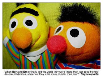 Burt Ernies Popularity - kayne by dapride