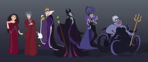 Disney Villains 1 by RevengeOfKipje