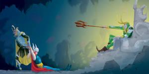 Thor by Lelpel