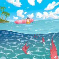 Gone Fishin by Lelpel