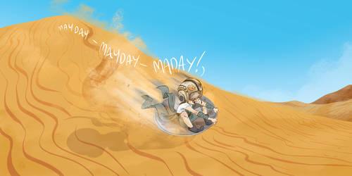 Mayday Baby Rey by Lelpel
