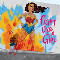 Wonder woman by Lelpel