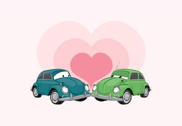 Love bugs by Lelpel