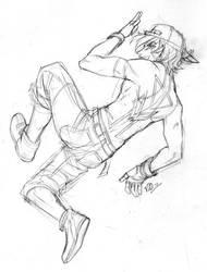 OC: B-Boy Romeo WIP by ninjafaun