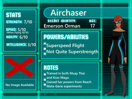 Young Justice: Airchaser by 6th-Inker