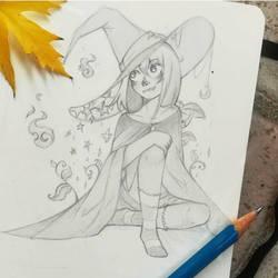 witch~ by Starlight-waltz
