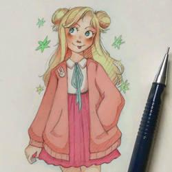 pastel girl~ by Starlight-waltz