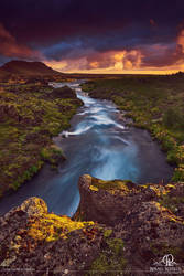 Icelandic River by BSGuyIncognito
