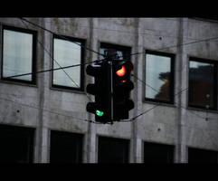 Traffic light by razaki