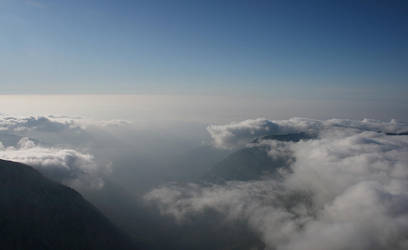 The Sea Of Clouds by aljazek