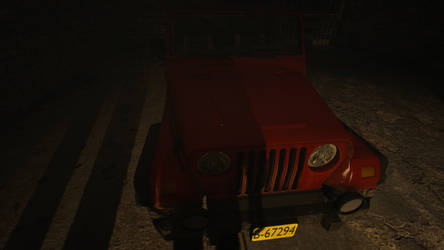 The jeep  by Candytiger2006AJ