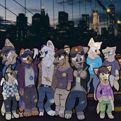 My Childhood/Today Fam by Candytiger2006AJ
