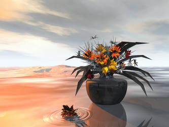 Autumn Flowers by RandomSearcher