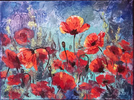 Poppies by RandomSearcher