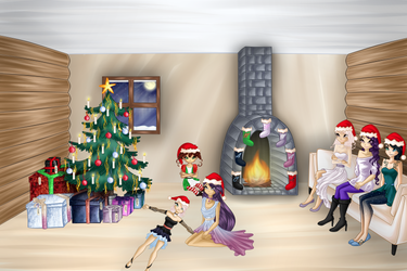GIFT: Christmas With The Family by WintersScent